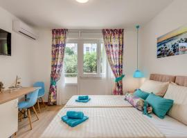 Coloured rooms, guest house in Split