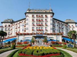Hotel Regina Palace, boutique hotel in Stresa