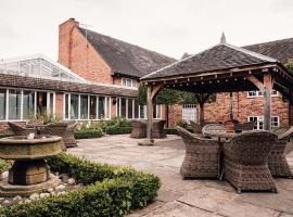 Manor House Hotel, Alsager, hotel near Congleton Park, Alsager