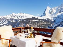 Eiger Mürren Swiss Quality Hotel, hotel in Mürren