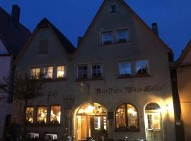 Restaurant Alter Keller, Hotel in Rothenburg ob der Tauber