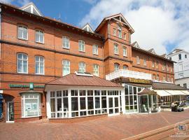 Inselhotel VierJahreszeiten, Hotel in Borkum