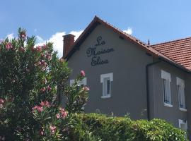 La Maison Elisa, apartment in Aix-les-Bains