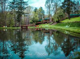 Asheville Cabins of Willow Winds, majoitus kohteessa Asheville