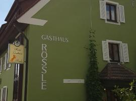 Hotel Gasthaus Rössle, hotel near Messe Freiburg, Freiburg im Breisgau