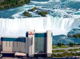 Niagara Falls Marriott Fallsview Hotel & Spa, hotel em Cataratas do Niágara