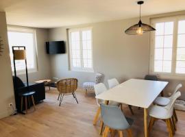 Appartement vue mer refait à neuf, apartment in Merville-Franceville-Plage