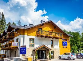 Hotel Na Skarpie, отель в Шклярска-Порембе