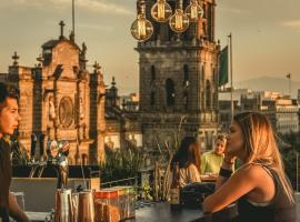 Hostel Mundo Joven Catedral, hotel in Mexico City