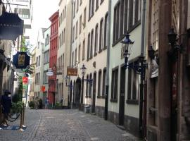 Romantik pur Köln Altstadt, budget hotel in Cologne
