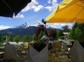 Alpenhotel Kronprinz, отель в Берхтесгадене