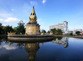 Chakungrao Riverview Hotel, hotel in Kamphaeng Phet