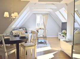 Attic Apartment - Gdansk Downtown, apartment in Gdańsk