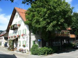 Hotel-Gasthof zur Rose, ski resort in Oberammergau