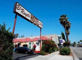 El Royale Hotel - Near Universal Studios Hollywood, hotel in Los Angeles