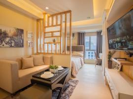 AT2017 Ayala Mall, Smart TV with Netflix, Pool, apartment in Cebu City