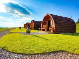 Skeabost View Pods Skye, cabin in Portree