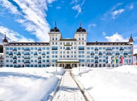 Grand Hotel des Bains Kempinski, hotel in St. Moritz