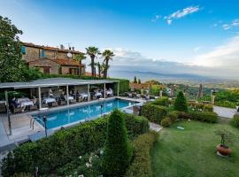 Villa Sassolini Luxury Boutique Hotel, The Originals Collection, hotell i Montevarchi
