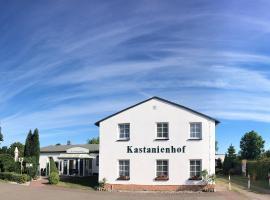 Kastanienhof Hotel garni, Hotel in Zinnowitz