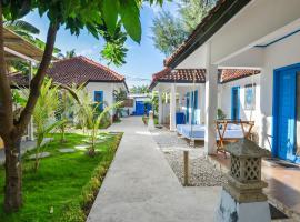 DPM Gili Hotel & Diving, отель в городе Гили-Траванган