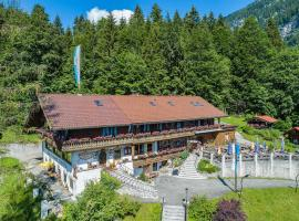 Gröbl-Alm Haus zur schönen Aussicht, hotel in zona Castello di Linderhof, Graswang