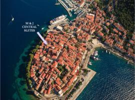 M & J Central Suites, romantic hotel in Korčula