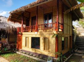 Lunggu Bungalows, family hotel in Tetebatu