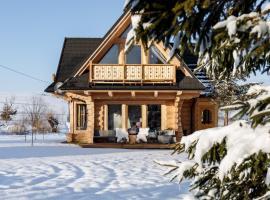 Stylowa Chata – hotel w pobliżu miejsca Wyciąg narciarski Pardałówka w Zakopanem