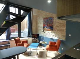 Insolite Appart Pasteur, apartment in Dijon
