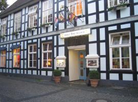 Hotel Drei Kronen, hotel dicht bij: Internationale luchthaven Münster-Osnabrück - FMO, Tecklenburg
