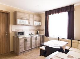 Cuha-gyöngye Apartmanház, hotel Zircen