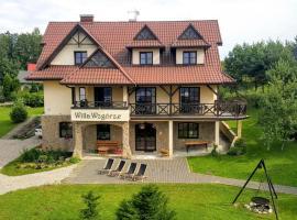Willa Wzgórze – hotel w pobliżu miejsca Zamek w Niedzicy w mieście Niedzica Zamek