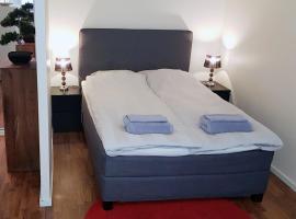 KR studio apartment Harju, hotelli Helsingissä lähellä maamerkkiä Helsingin Messukeskus