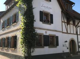Landhotel Kallstadt, hotel Kallstadtban