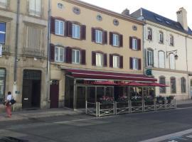 Brasserie-Hotel l'Eden、リュネヴィルのホテル