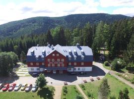 Hotel Lesní Chata, hotel v destinaci Kořenov
