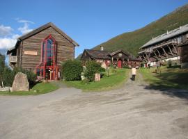 Fossheim Steinsenter- Solhell Cabin, cabin in Lom