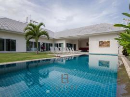 Private 4 bedroom pool villa Hua Hin L28 บ้านพักในหัวหิน