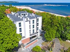 Imperial, accessible hotel in Sopot