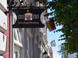 Hotel Stadt Hamburg, Hotel in Heiligenhafen