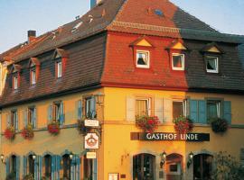 Hotel Gasthof zur Linde, homestay in Rothenburg ob der Tauber