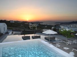 Nova Luxury Suites, self-catering accommodation in Pyrgos