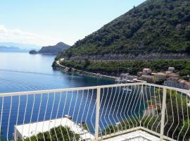 Sea view apartment for two, apartment in Sobra
