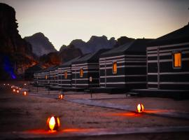Space Village Luxury Camp, campground in Wadi Rum