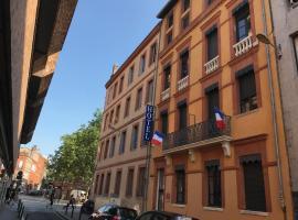 Hôtel le Pastel, hôtel à Toulouse