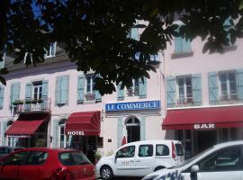 Hotel Le Commerce, hôtel à Bagnères-de-Bigorre
