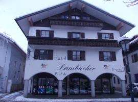 Hotel Lambacher, hotel in Oberaudorf