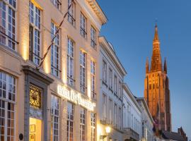 De Tuilerieën - Small Luxury Hotels of the World, hotel near Bladelin Court, Bruges