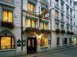 Romantik Hotel Wilden Mann Luzern, Hotel in Luzern